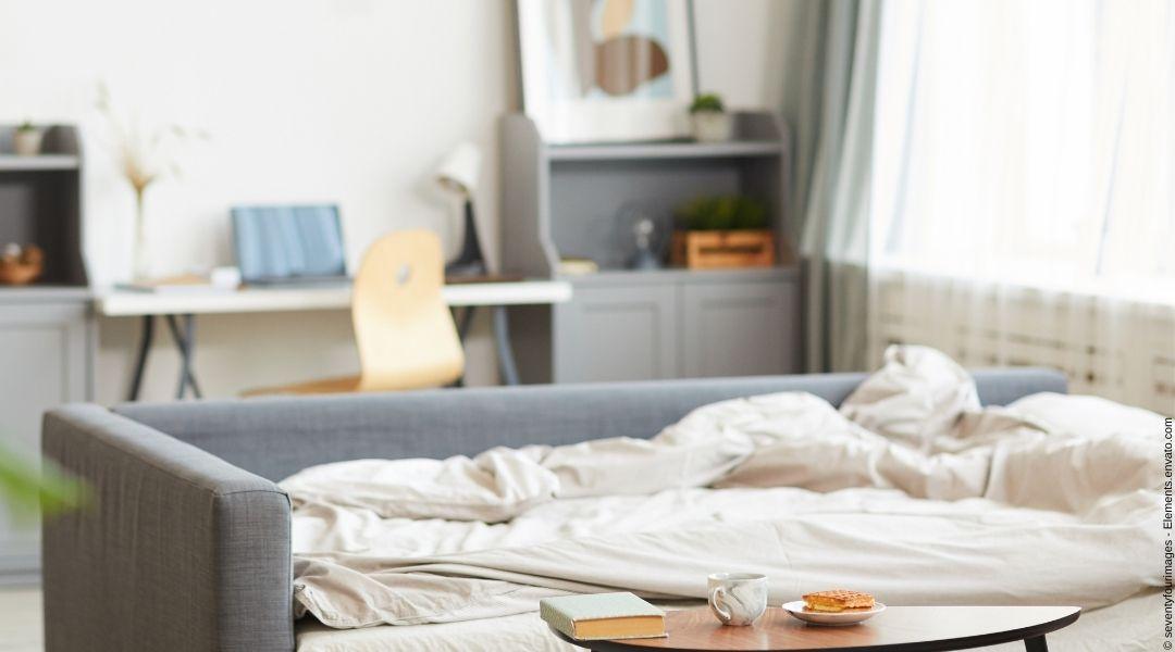 Wie ein Schlafsofa oder Daybed Ihr Homeoffice zum idealen Multifunktionsraum macht